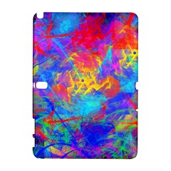 Colour Chaos  Samsung Galaxy Note 10 1 (p600) Hardshell Case by icarusismartdesigns