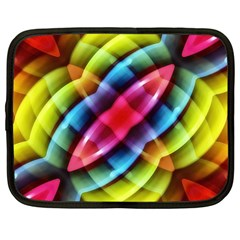 Multicolored Abstract Pattern Print Netbook Sleeve (xxl)