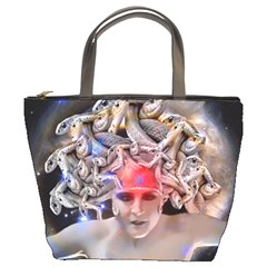Medusa Bucket Handbag by icarusismartdesigns