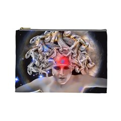 Medusa Cosmetic Bag (large) by icarusismartdesigns