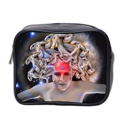 Medusa Mini Travel Toiletry Bag (two Sides) by icarusismartdesigns
