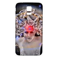 Medusa Samsung Galaxy S5 Back Case (white) by icarusismartdesigns