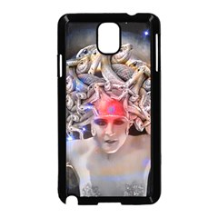 Medusa Samsung Galaxy Note 3 Neo Hardshell Case (black) by icarusismartdesigns