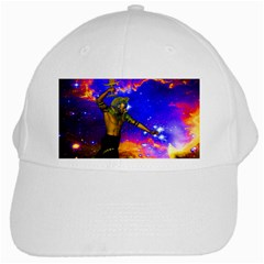 Star Fighter White Baseball Cap by icarusismartdesigns