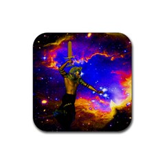 Star Fighter Drink Coaster (square) by icarusismartdesigns