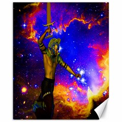 Star Fighter Canvas 16  X 20  (unframed) by icarusismartdesigns