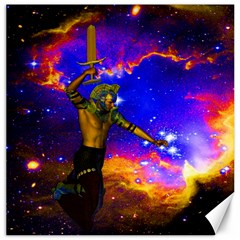 Star Fighter Canvas 20  X 20  (unframed) by icarusismartdesigns