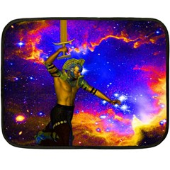 Star Fighter Mini Fleece Blanket (two Sided) by icarusismartdesigns