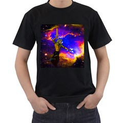 Star Fighter Men s T Shirt (black) by icarusismartdesigns