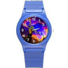 Star Fighter Plastic Sport Watch (small) by icarusismartdesigns