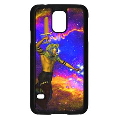 Star Fighter Samsung Galaxy S5 Case (black) by icarusismartdesigns