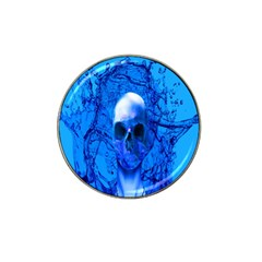 Alien Blue Golf Ball Marker 4 Pack (for Hat Clip) by icarusismartdesigns