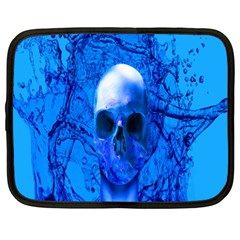 Alien Blue Netbook Sleeve (large)