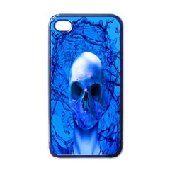 Alien Blue Apple Iphone 4 Case (black)