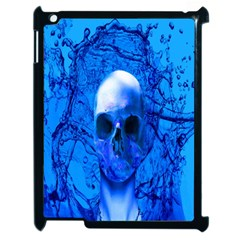 Alien Blue Apple Ipad 2 Case (black)