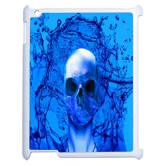 Alien Blue Apple Ipad 2 Case (white)