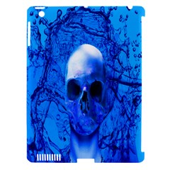 Alien Blue Apple Ipad 3/4 Hardshell Case (compatible With Smart Cover) by icarusismartdesigns