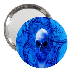 Alien Blue 3  Handbag Mirror by icarusismartdesigns