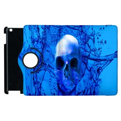 Alien Blue Apple Ipad 2 Flip 360 Case by icarusismartdesigns