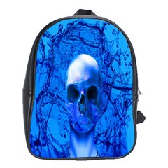Alien Blue School Bag (xl)