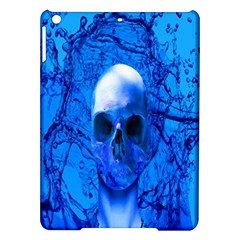Alien Blue Apple Ipad Air Hardshell Case by icarusismartdesigns