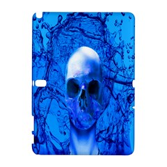 Alien Blue Samsung Galaxy Note 10 1 (p600) Hardshell Case by icarusismartdesigns