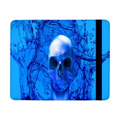 Alien Blue Samsung Galaxy Tab Pro 8 4  Flip Case by icarusismartdesigns