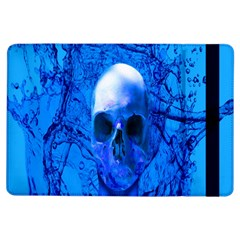 Alien Blue Apple Ipad Air Flip Case by icarusismartdesigns