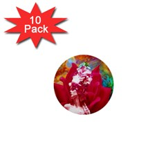 Star Flower 1  Mini Button (10 Pack) by icarusismartdesigns