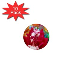 Star Flower 1  Mini Button Magnet (10 Pack) by icarusismartdesigns