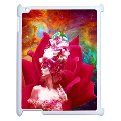 Star Flower Apple Ipad 2 Case (white) by icarusismartdesigns