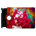 Star Flower Apple iPad 2 Flip 360 Case Front
