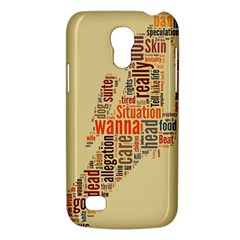 Michael Jackson Typography They Dont Care About Us Samsung Galaxy S4 Mini (gt I9190) Hardshell Case  by FlorianRodarte