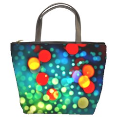 A Dream Of Bubbles Bucket Handbag by sirhowardlee