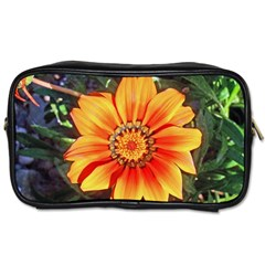 Flower In A Parking Lot Travel Toiletry Bag (two Sides) by sirhowardlee