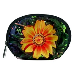 Flower In A Parking Lot Accessory Pouch (medium)
