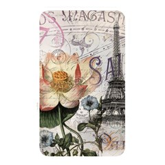 Vintage Paris Eiffel Tower Floral Memory Card Reader (rectangular) by chicelegantboutique