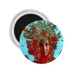 Flower Horizon 2 25  Button Magnet by icarusismartdesigns