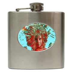 Flower Horizon Hip Flask by icarusismartdesigns