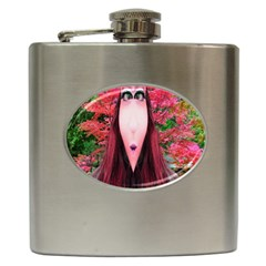 Tree Spirit Hip Flask by icarusismartdesigns
