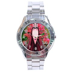 Tree Spirit Stainless Steel Watch by icarusismartdesigns