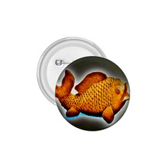 Goldfish 1 75  Button by sirhowardlee