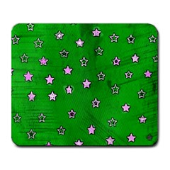Colorful Stars 2 Large Mouse Pad (rectangle) by sirhowardlee