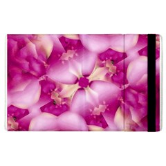 Beauty Pink Abstract Design Apple Ipad 2 Flip Case by dflcprints