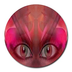 Hypnotized 8  Mouse Pad (round) by icarusismartdesigns