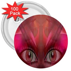 Hypnotized 3  Button (100 Pack)