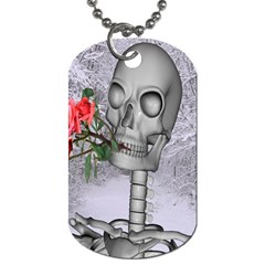 Looking Forward To Spring Dog Tag (one Sided)