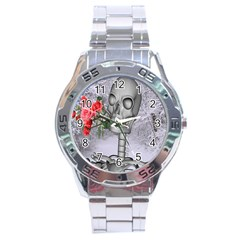 Looking Forward To Spring Stainless Steel Watch