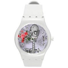 Looking Forward To Spring Plastic Sport Watch (medium) by icarusismartdesigns