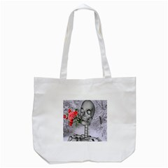 Looking Forward To Spring Tote Bag (white) by icarusismartdesigns